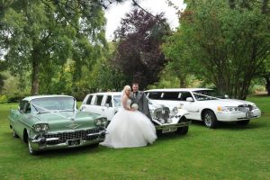 Vintage and classic wedding car hire