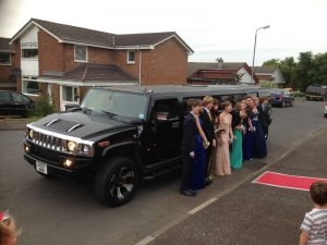 Black Hummer Limo- Proms in Cumbria