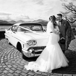 Vintage wedding car hire - 1958 Cadillac