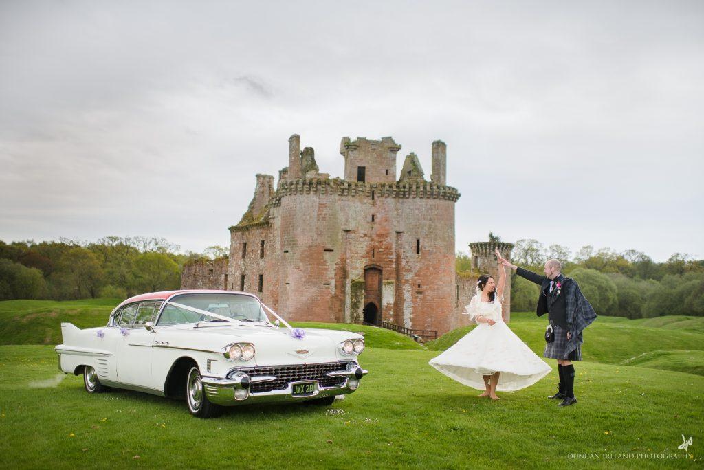 Caerlaverock Castle weddings