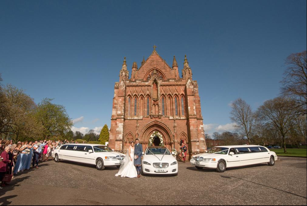 Dumfries weddings at The Crichton Church