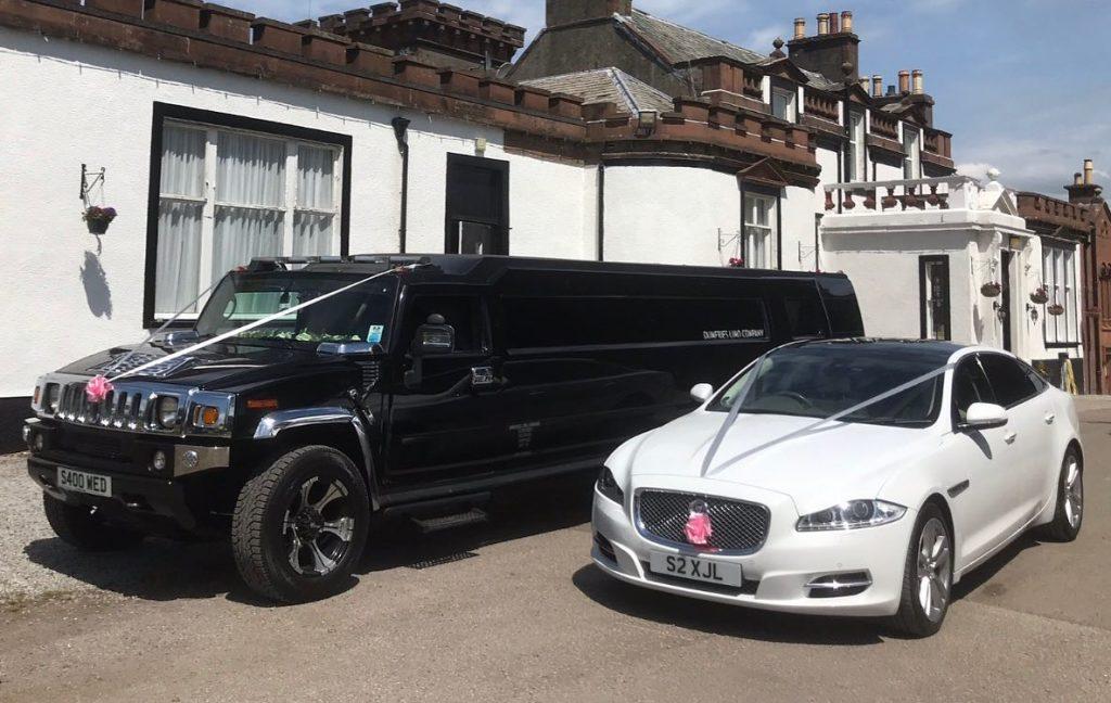 Bride & Groom wedding transport