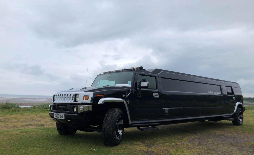 Black Hummer Limousine (Only Available until October 2021)