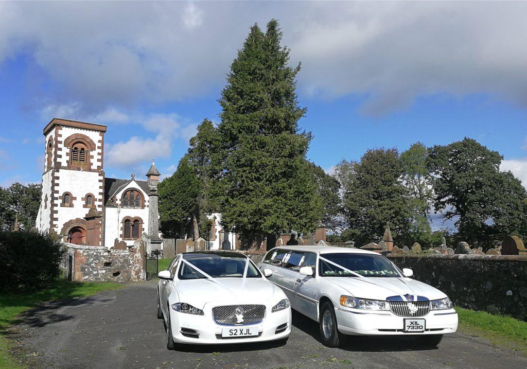 Wedding cars dumfries