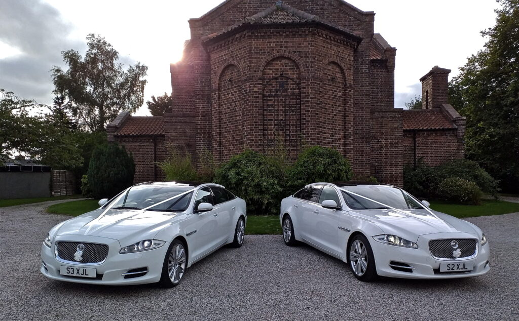 Gretna Green Weddings - Jaguar XJL Portfolio wedding cars