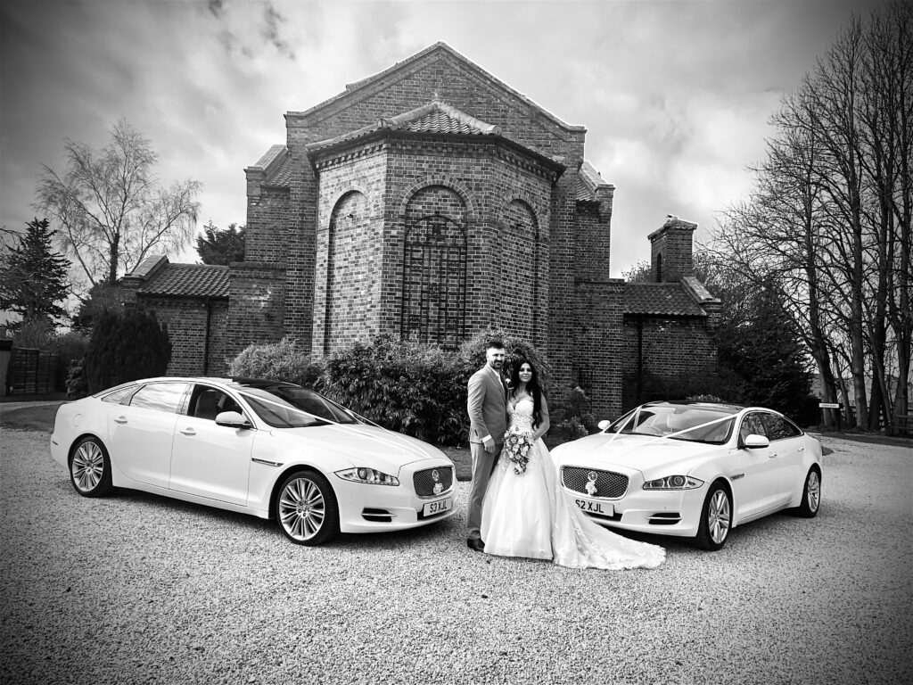 Wedding Cars at The Anvil Hall in Gretna Green