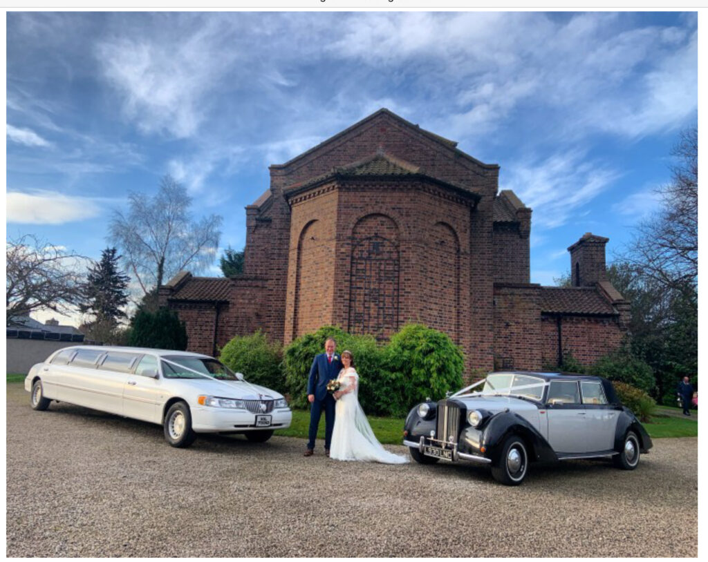 Wedding car and limousine hire